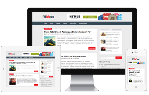 Rebbon A Free Wide Post Traditional Magazine Blog Responsive ...