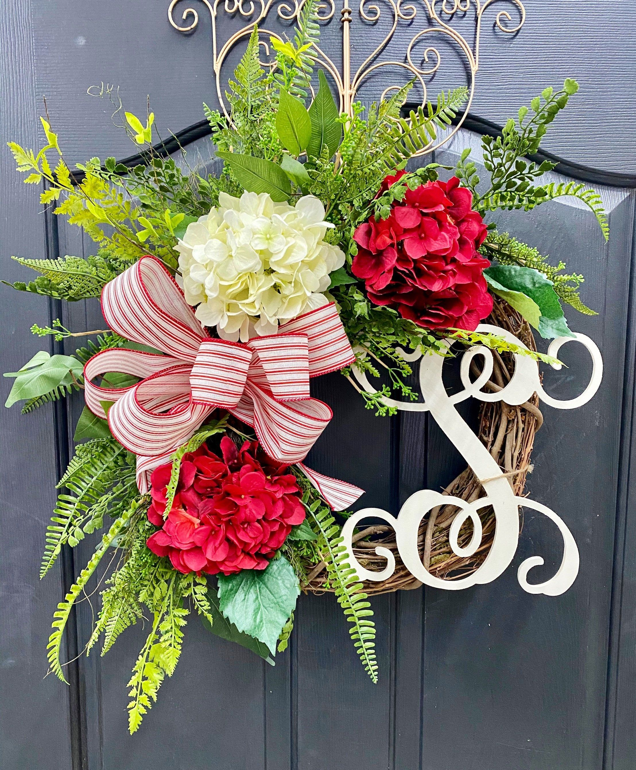 NEW!!! Wreath Making Kit! DIY Wreath Making Kit, Monogram