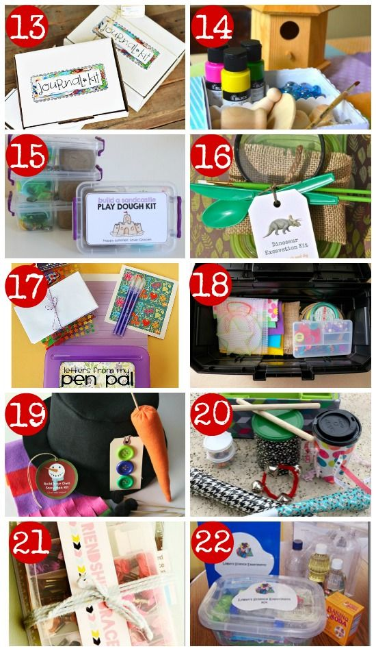 50 diy gift kits for kids creative gifts creative and gift 50 diy gift kits for kids negle Images