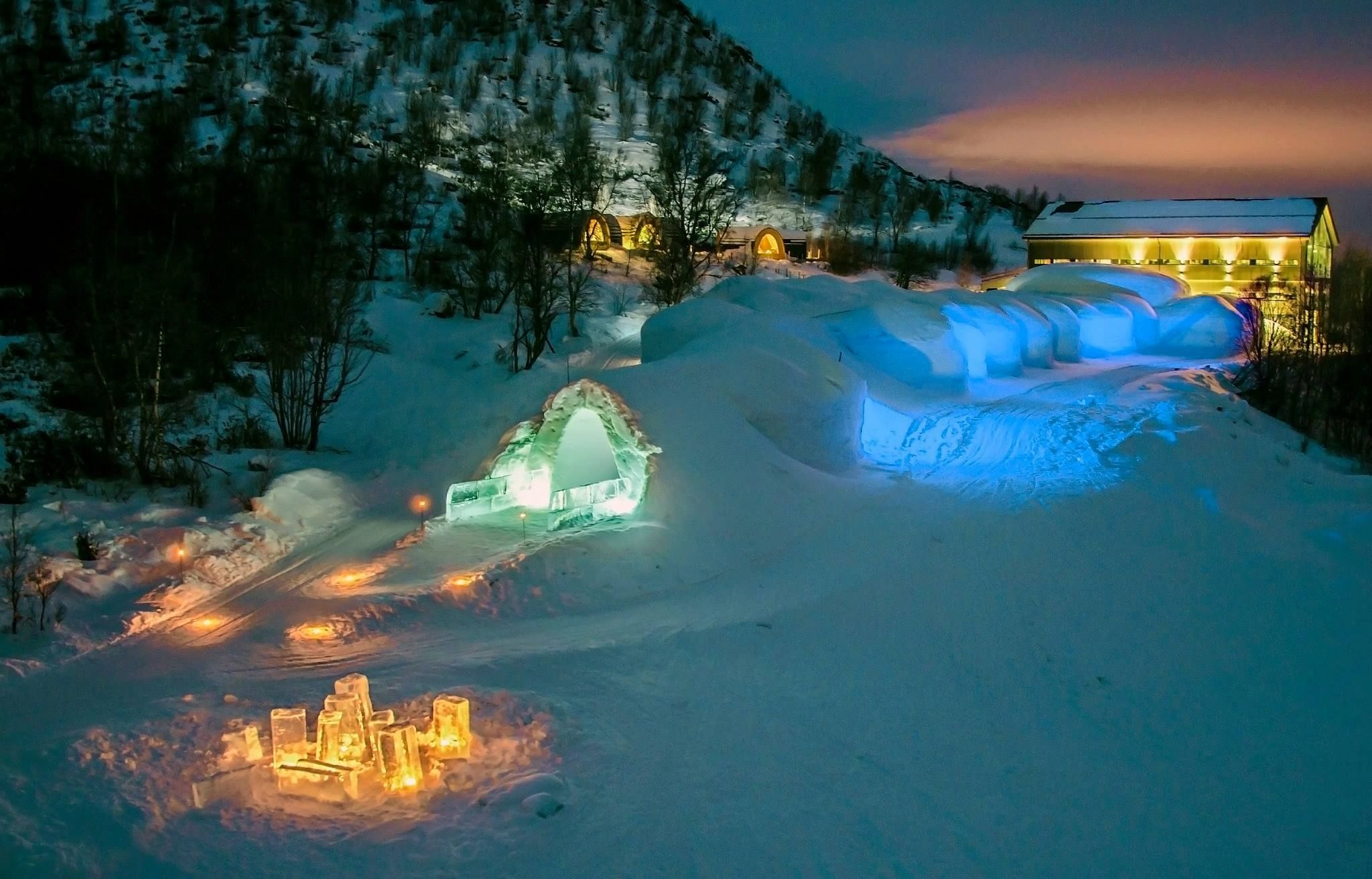 Norway' Kirkenes Snowhotel Norway Ice Hotel