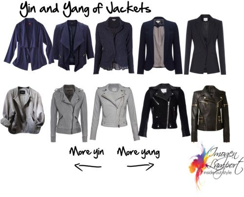 Yin and Yang of Jackets, by Imogeni, polyvore link: http://www.polyvore.com/yin_yang_jackets/set?.embedder=462019&.svc=copypaste&id=120701675