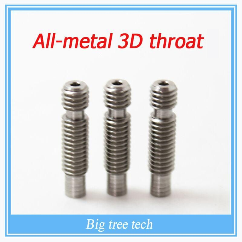 CR-10 J-Head Extruder Throat All Metal 3D Printer Part 1.75mm Filament