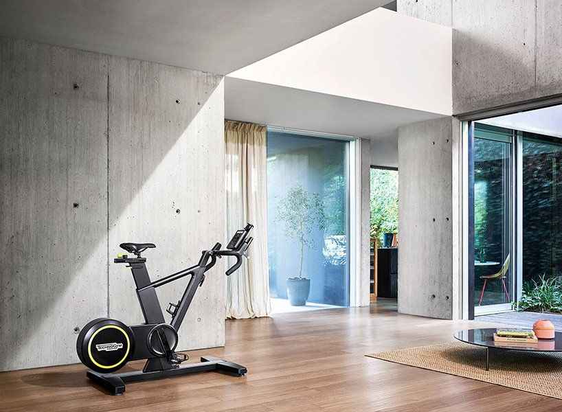 Technogym personal line delivers wellness solutions for home interiors netfloor usa also rh pinterest