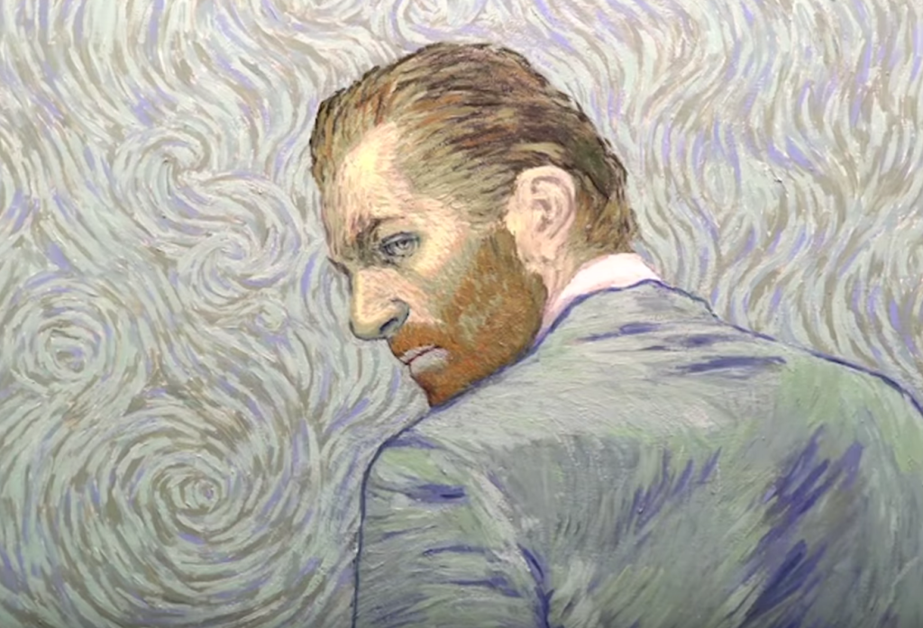 Van Gogh's Paintings Become A Fully Painted Movie