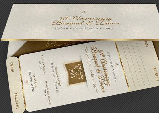 Anniversary Banquet Ticket And Jacket Template Is For Anniversary Celebrations Banquets And Apprecia Ticket Template Raffle Tickets Template Anniversary Event