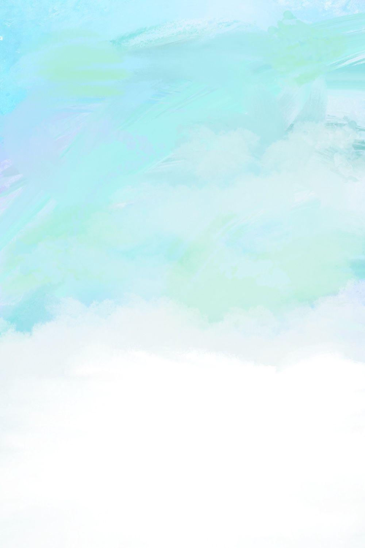 Бирюзовый мятный акварельный фон для сторис Инстаграм, фон для блога, задний фон, заставка mint