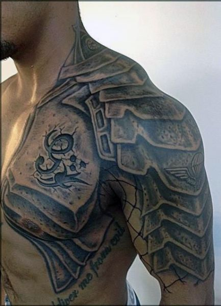 Tatuaż Na Ramieniu Męski Szukaj W Google Biomehanika