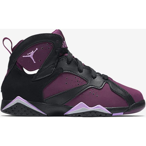 d9f5734361f942 Air Jordan 7 Retro (10.5c-3y) Pre-School Girls  Shoe. Nike.com ( 80) ❤ liked  on Polyvore featuring shoes and s h o e s