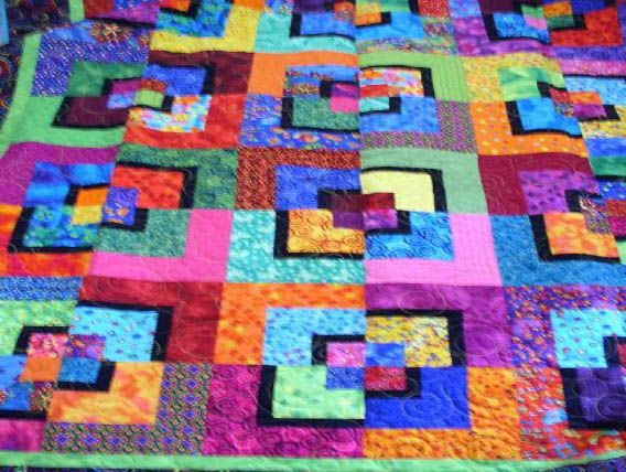 potato chip quilt pattern | Minot Prairie Quilt Guild |