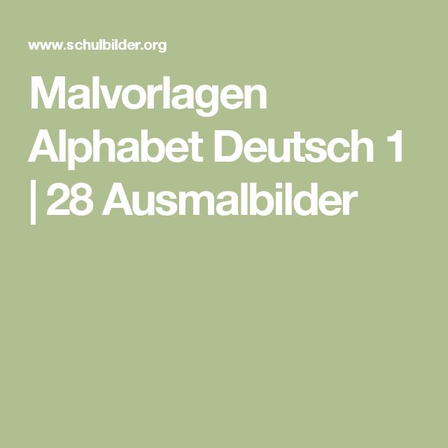 malvorlagen alphabet deutsch 1  28 ausmalbilder