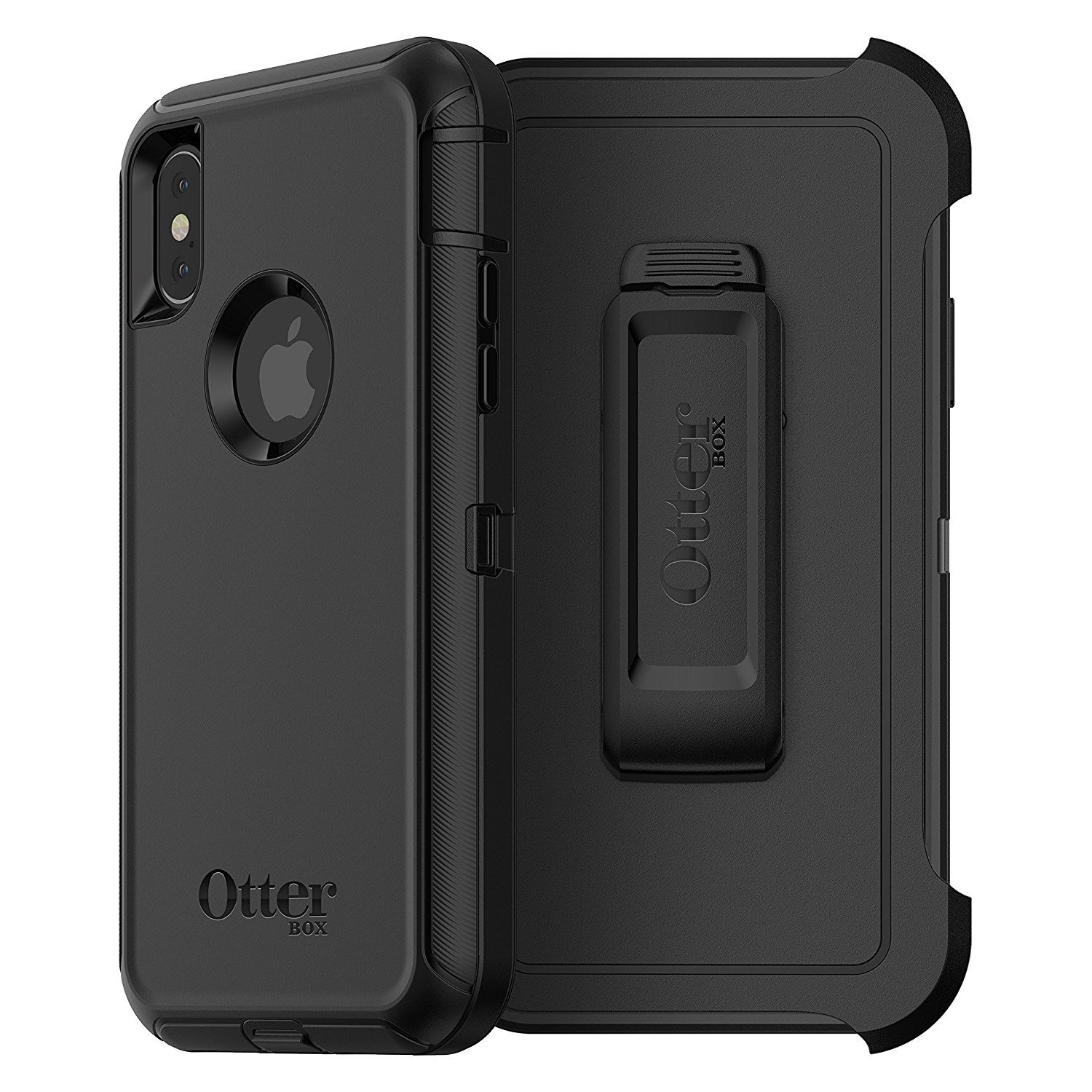 the best attitude 49508 8ebbf OtterBox DEFENDER SERIES Case for iPhone X (ONLY) - Frustration Free ...