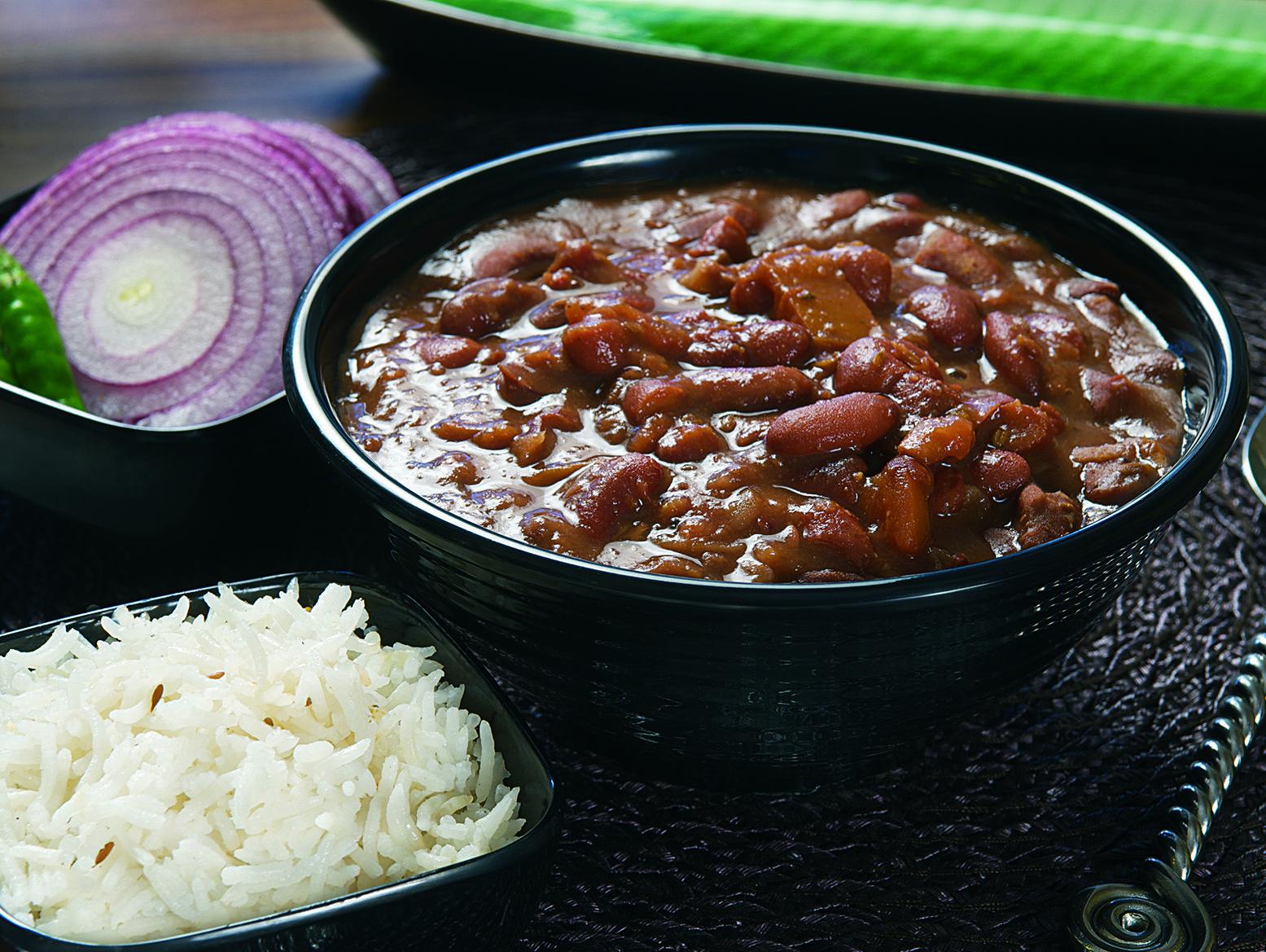 Punjabi Curried Kidney Beans