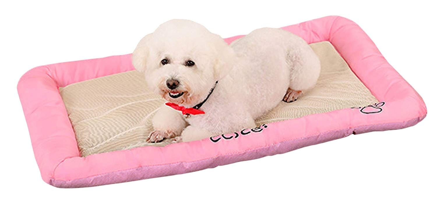 Pet Dog Cooling Mat Pets Cool Bed Cat House Ice Pad Chilly Ice Cooler Bed For Dogs Pets Puppy Cushion Mat Cold Pillow Beds Ca Dog Cooling Mat Dog Bed Dog Beds For Small Dogs