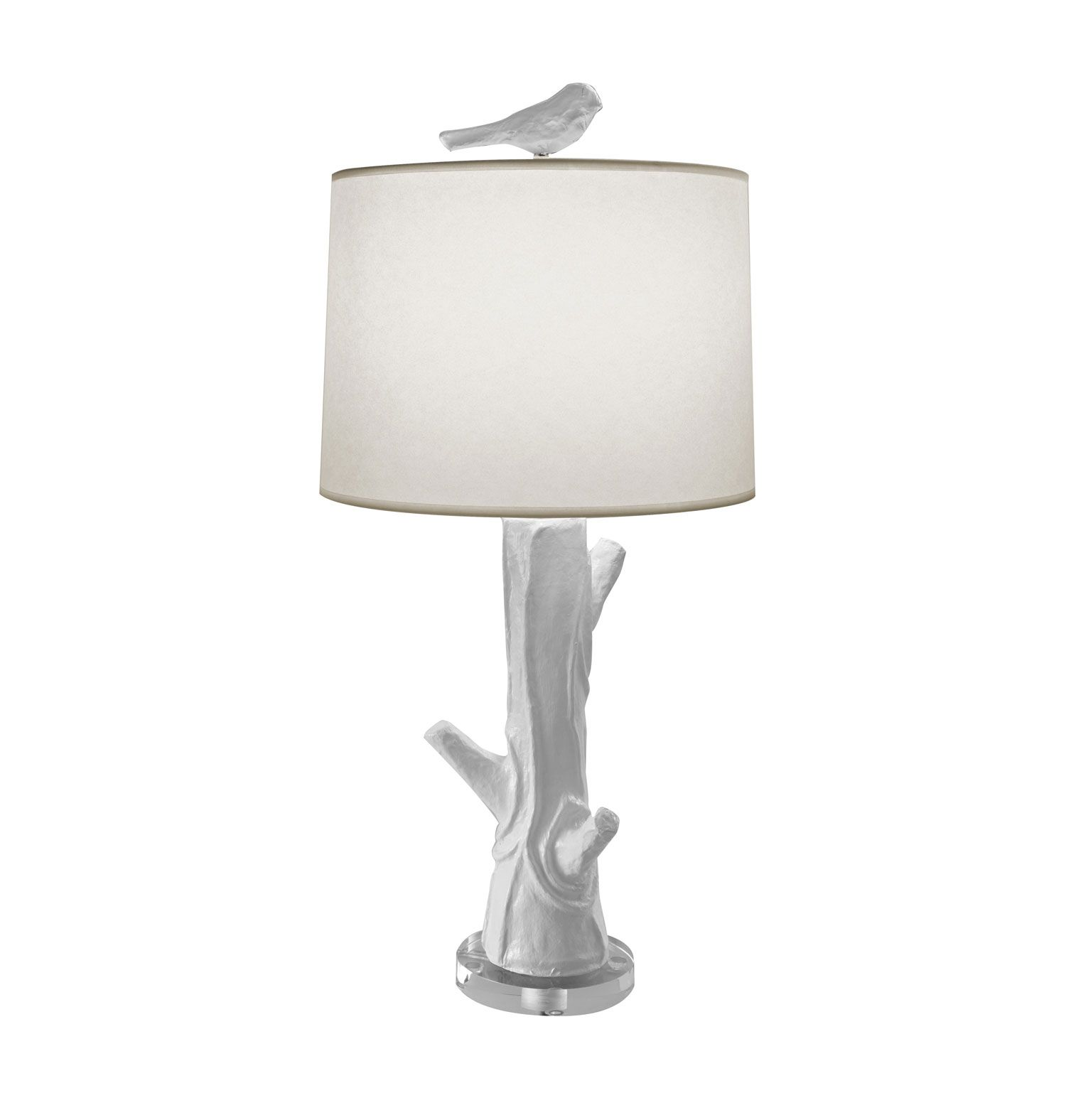White table lamps bedroom - Find This Pin And More On Spa Resort Bedroom Immaculate White Trees Base Added Little Bird Accesories Shade Table Lamps