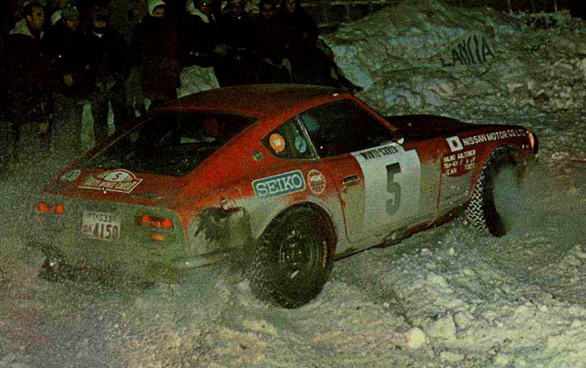 1972 Monte Carlo (Aaltonen & Todt) Datsun 240Z