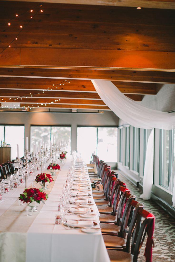 Romantic Winter Wedding Event planning design