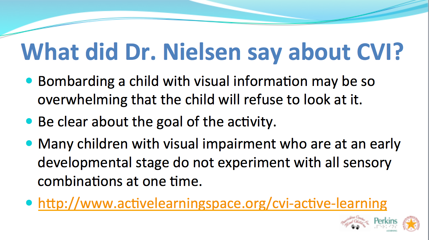 Cortical Visual Impairment Cvi And Active Learning