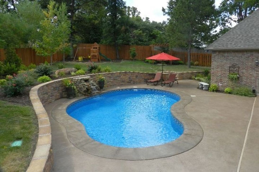 Decoomo Trends Home Decoration Ideas Pools For Small Yards Small Backyard Pools Kidney Shaped Pool