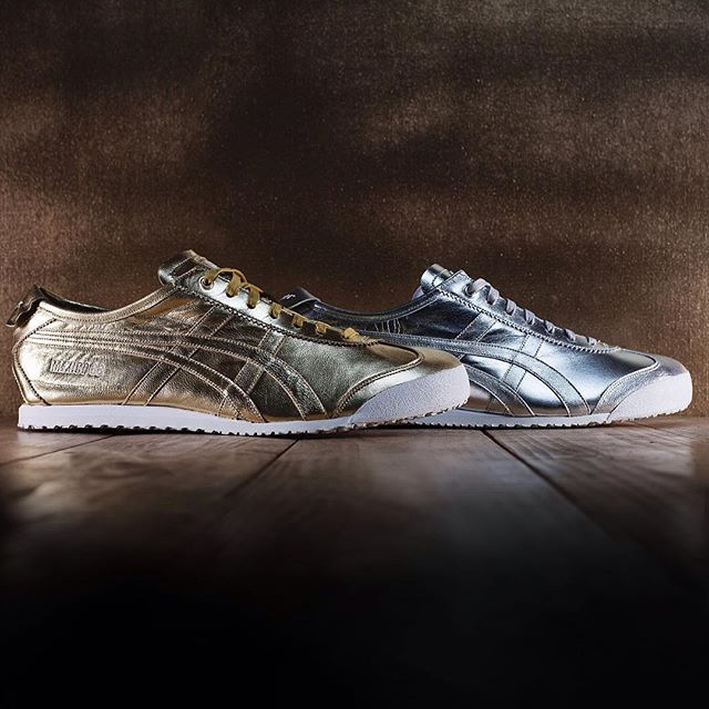 Instagram media onitsukatigerhq - Silver or gold?  Our #MEXICO66 gets the #metallic treatment this season.  Available now at all Onitsuka Tiger stores and onitsukatiger.com