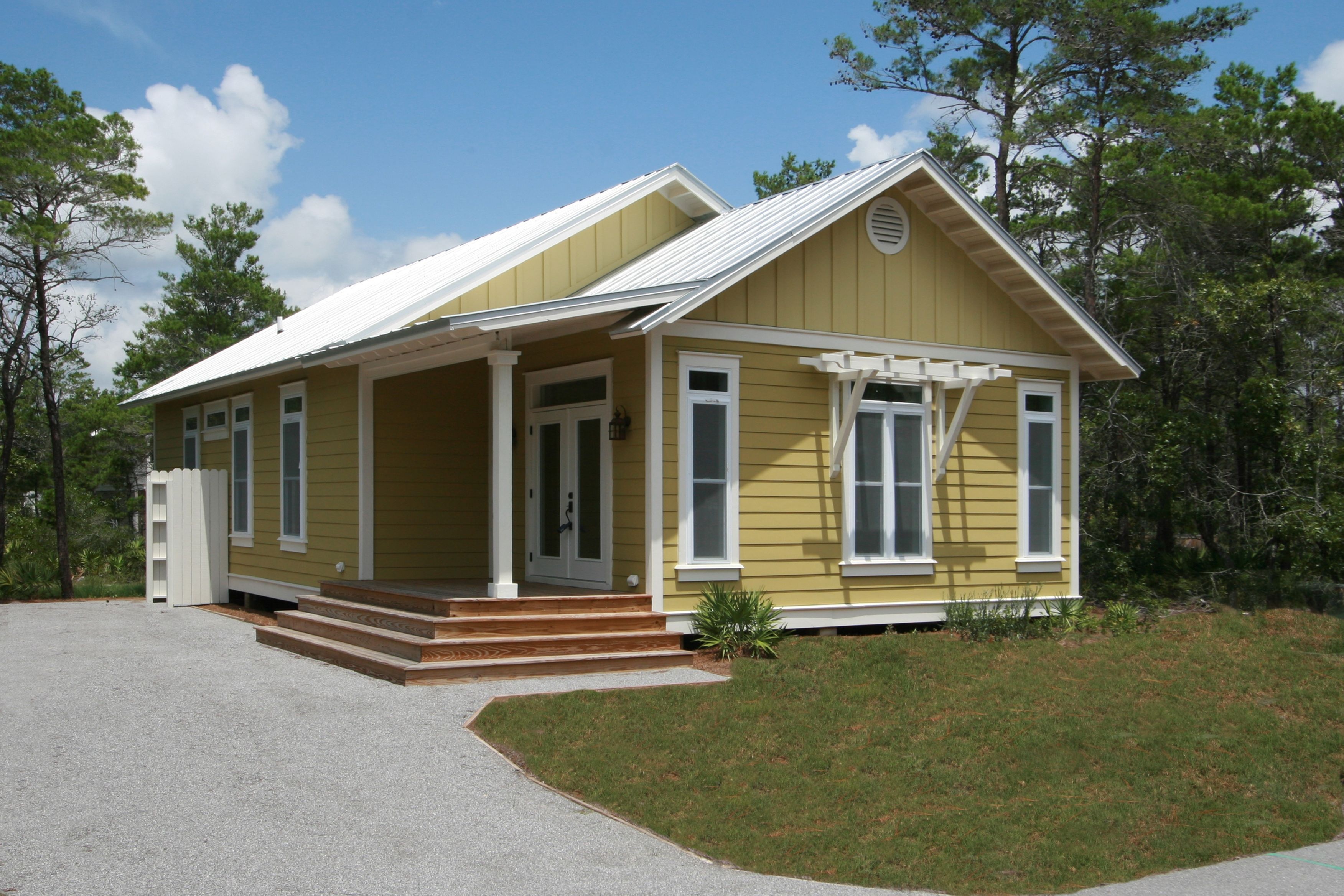 Custom ranch coastal modular home design by Nationwide