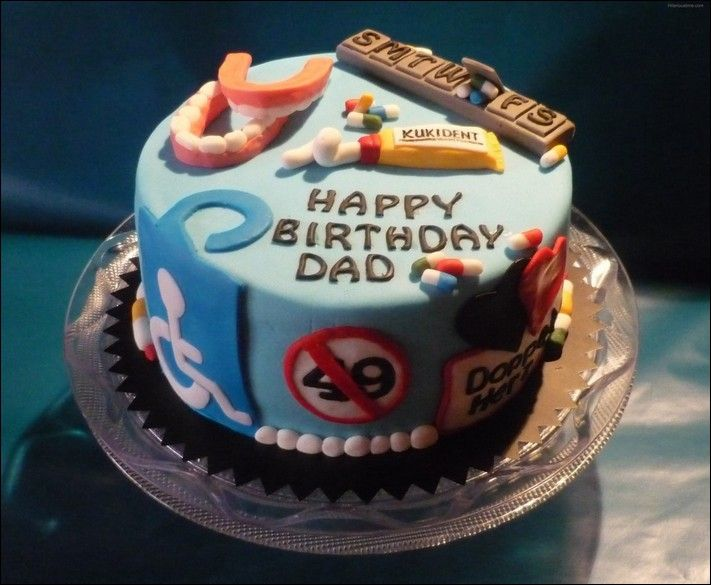Birthday Cake Decorating Ideas For Dad Birthday Cakes Asta