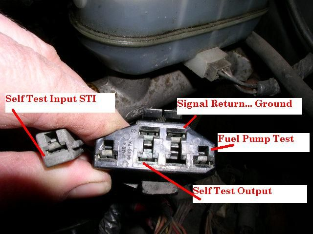 How To Retrieve Codes From An Obd I System 85 95 Ford