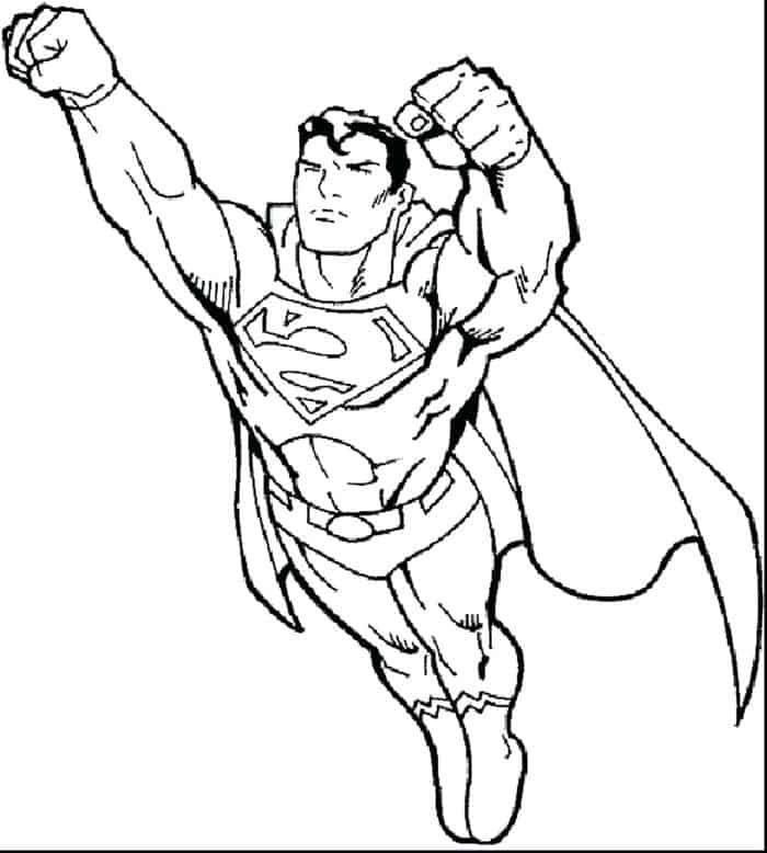 Superman Coloring Pages in 2020 (With images) | Batman ...