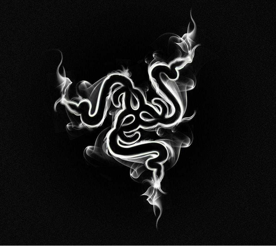Razer Hd Wallpaper: Smoke Logo, Tribal Tattoos, Logos