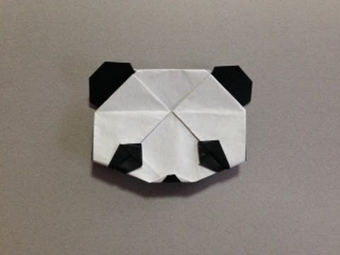 How To Make Origami Panda Jacky Chan