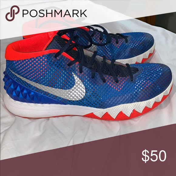 low priced 5a6e0 19481 Kyrie 1 Independence Day basketball shoes Like new, have ...
