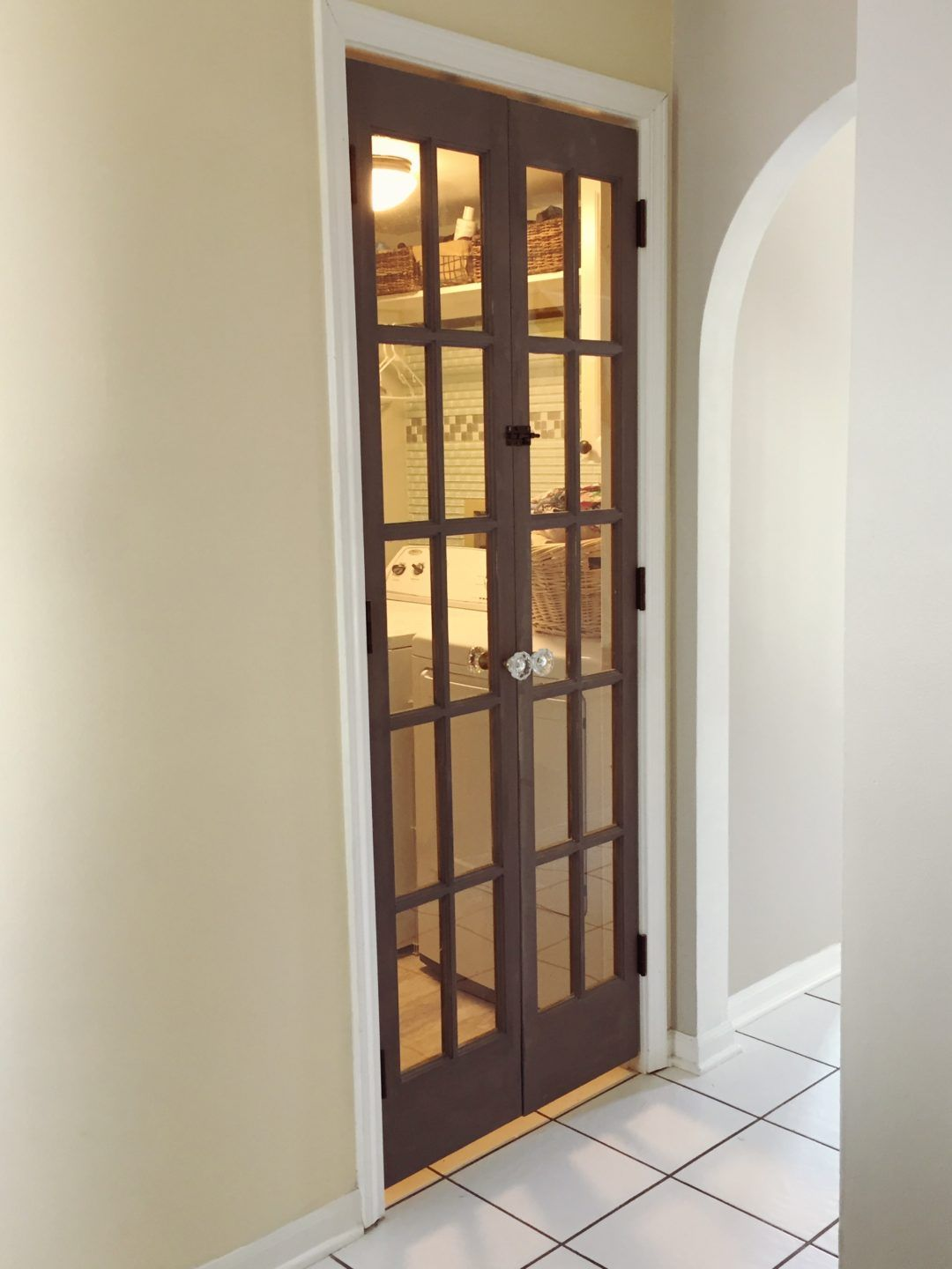 Brandnewell Designs: Turning Bifolds Into French Doors