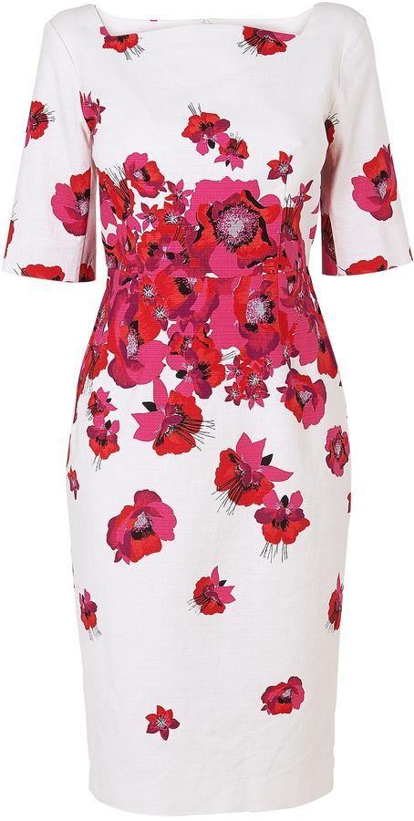 Lk Bennett Lasana Printed Dress Sommerhochzeit Outfits Kleider Coole Kleider