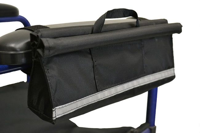 Armrest Pocket Wheelchair Pouch Manual Ed Accessories Bag