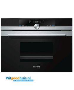 Siemens CD634GBS1 iQ700  Description: Siemens CD634GBS1 iQ700 inbouw oven - Inhoud oven: 38 liter  Price: 1069.00  Meer informatie  #witgoedhuis