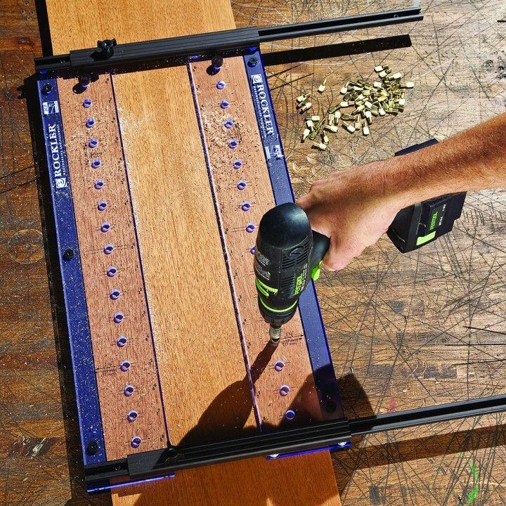 Rockler Pro Shelf Drilling Jig Used Woodworking Tools