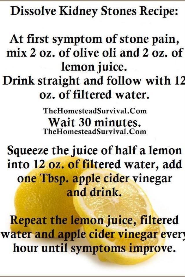 Best Natural Kidney Stone Remedy