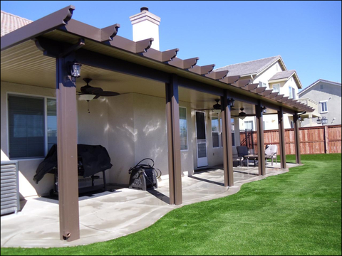 Wood Alumawood Patio Cover Colors Alumawood Patio Covers Pros And With Dimensions 1280 X 960 Concrete Patio Aluminum Patio Awnings Perfect Patio