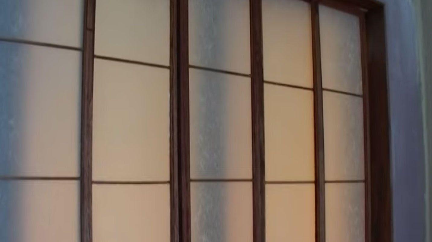 We Show You How To Make These Shoji Rice Paper Screens