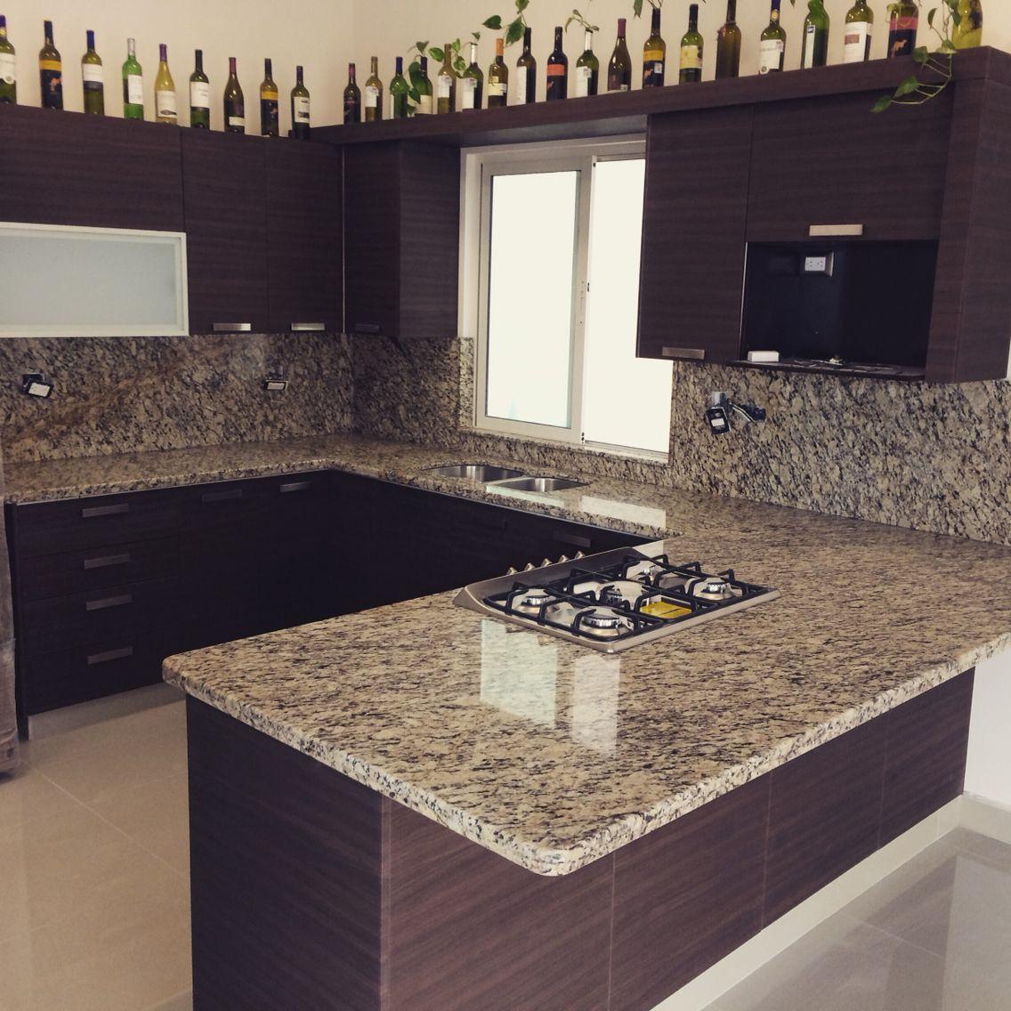 Cocina granito | Cocina | Pinterest | Granito, Cocinas y Estilos de ...
