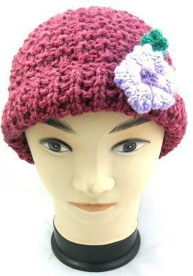 Charity Pattern Adult Sized Knitted Beanie  Charity Pattern Adult Sized Knitted Beanie