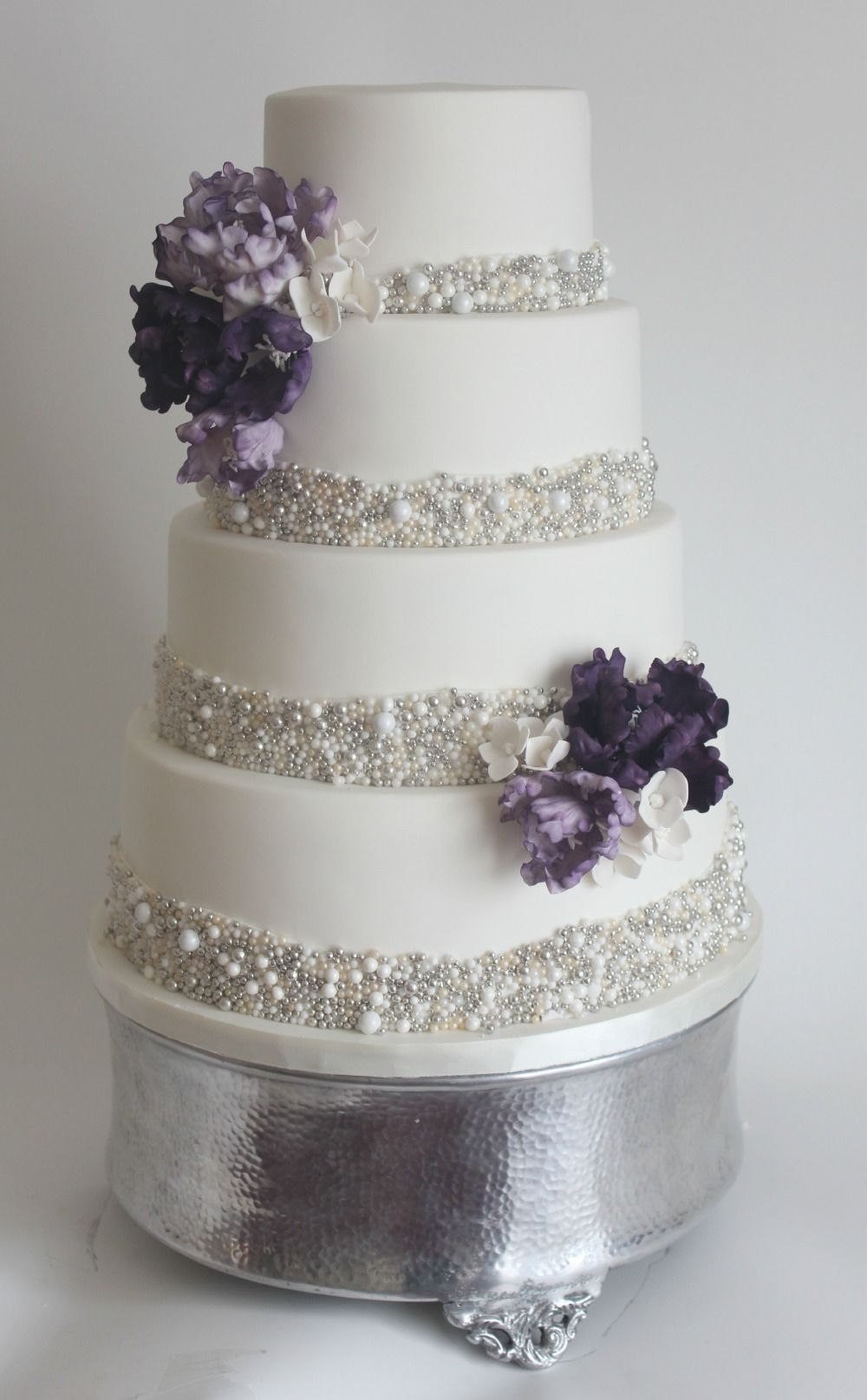 Bling Wedding Cake   she said yes!   Pinterest   Bling wedding cakes ...