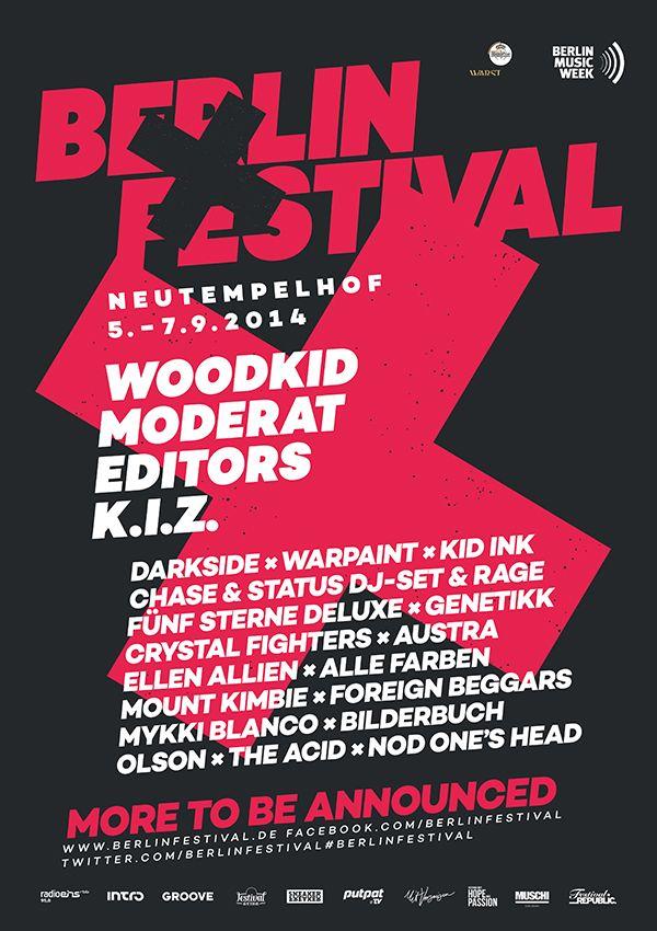 Berlin Festival 2014 Line-Up Update - Festival Announces New