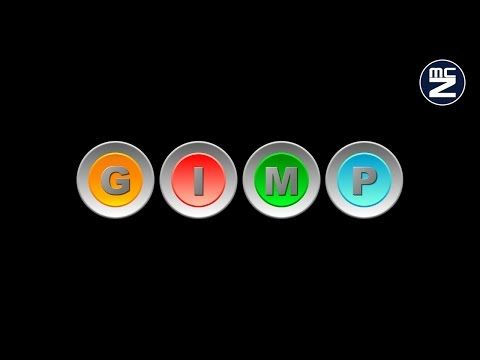 Speed Tutorial Gimp - Pulsante per il web - Button for web - YouTube