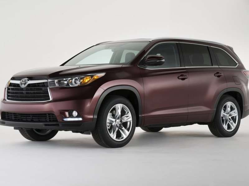 Great Mileage For An Suv Toyota Highlander Hybrid Best
