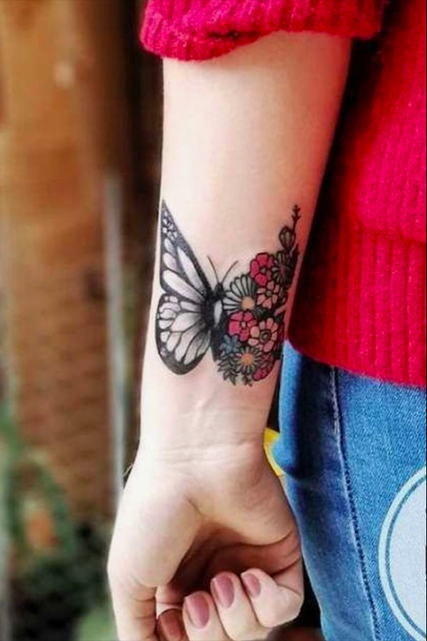 20 Charming Butterfly Tattoos Mainly For Your Fingers Backs And Arms The First Hand Fa In 2020 Butterfly Tattoos For Women Wrist Tattoos For Women Tattoos For Women