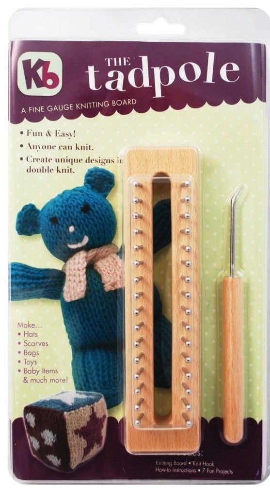 Knitting Boards and Looms 113343: Kb Wood Tadpole 6 ...