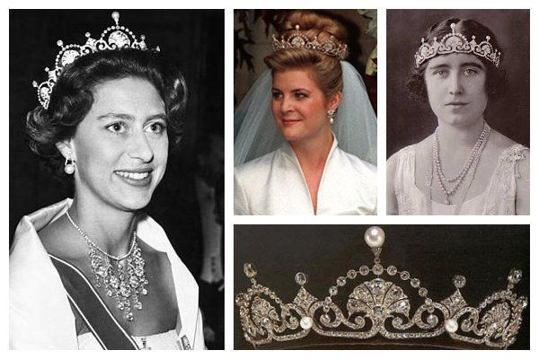 HRH The Princess Margaret, Countess of Snowdon jewerly | (clockwise from top left): Princess Margaret, Countess of Snowdon ...