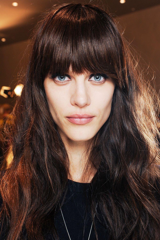 langhaarfrisuren herbst winter 2013 14 casual hair glamour