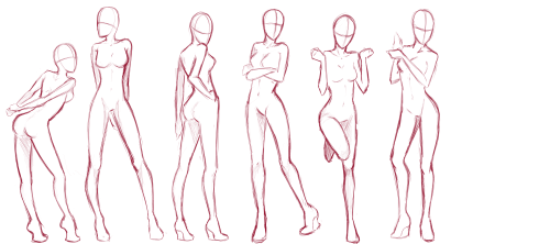 shy girl animation pose