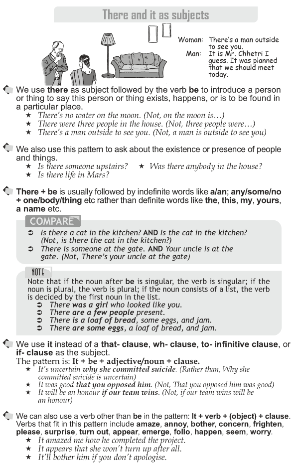Grade 10 Grammar Lesson 49 There And It As Subjects 1 Grammar